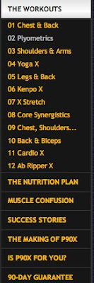 begin to dig: Reflection/Critique of P90X review: Part 1 of