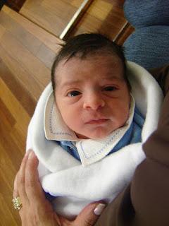 Foto do nascimento