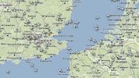 Seguire le rotte dei voli aerei in tempo reale su Google Maps