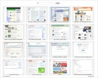 Pagine inizio e homepage sul browser con i siti preferiti