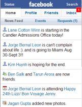 Facebook su cellulare login e programma per chat da telefonino