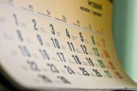 Calendario sullo schermo desktop del PC