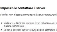 Quel sito è offline e non raggiungibile per tutti o ci sono problemi di connessione?