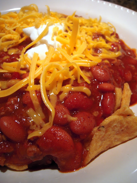 Slow Cooker All Day Beef Chili