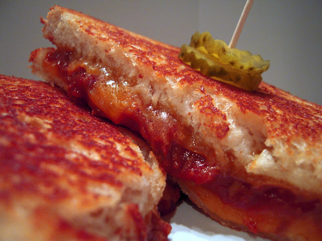 Southern BBQ Grilled Cheese