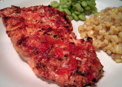 Grilled Salsa Chicken