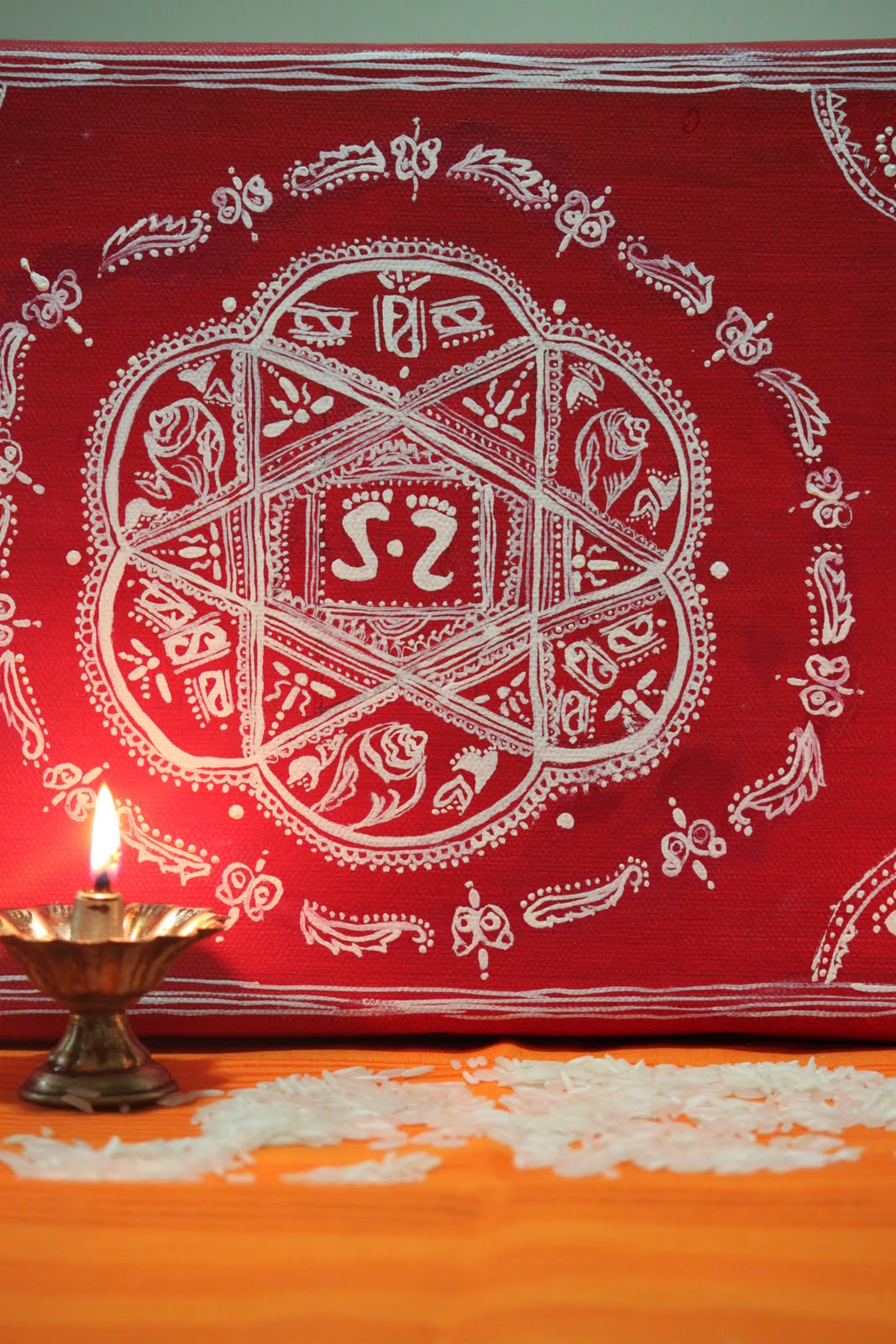 Deepi S World Aipan Traditional Art Of Kumaon