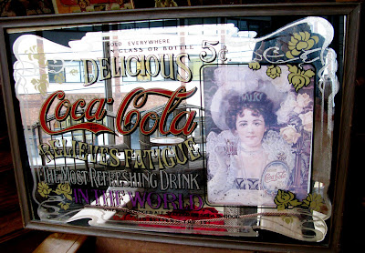 Antiques Vintage And More Coca Cola Mirror