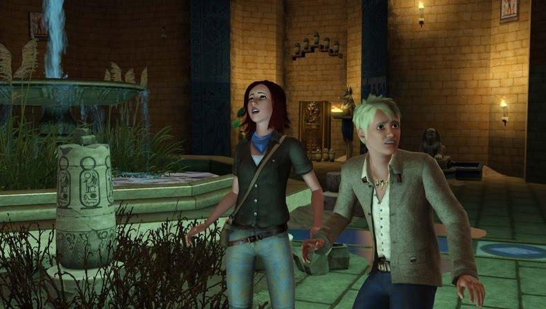 baixar capa Jogos PC   The Sims 3 World Adventures ISO