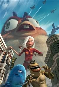 Monster vs Aliens Movie