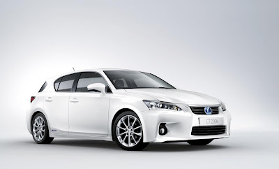 Lexus Release Pr Shots Of Ct 200 Hybrid Hatchback Electric Vehicle News