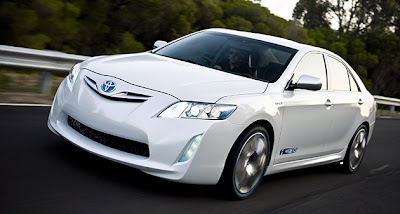 Toyota Has Premiered Its Hc Cv Hybrid Camry Concept Vehicle Ahead Of The 2009 Melbourne International Motor Show In Australia Using Same Continuously