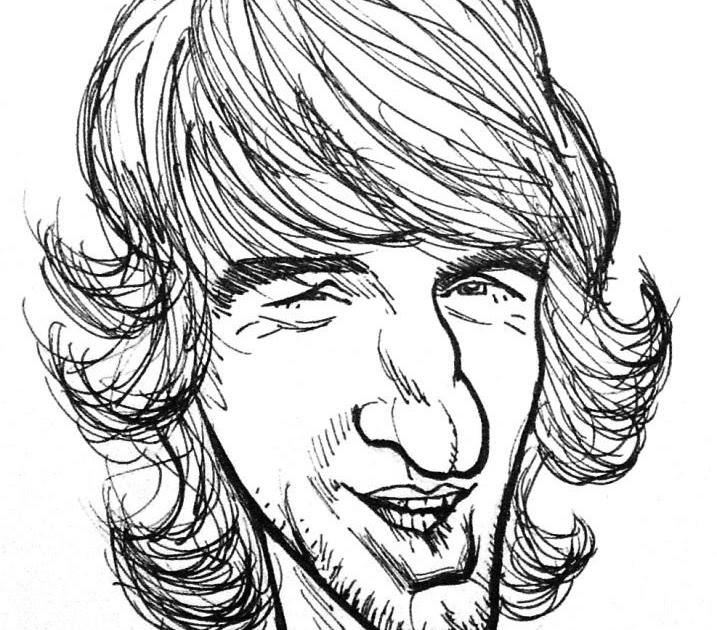 Lee's caricature workshop: Owen Wilson...penis nosed