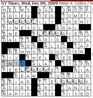 Rex Parker Does The Nyt Crossword Puzzle Currie Who Wrote Parliamentary Affair Wednesday Dec 9 2009 Famed Chicago Livestock Owner Ancient Greek Portico Buchanan S Predecessor