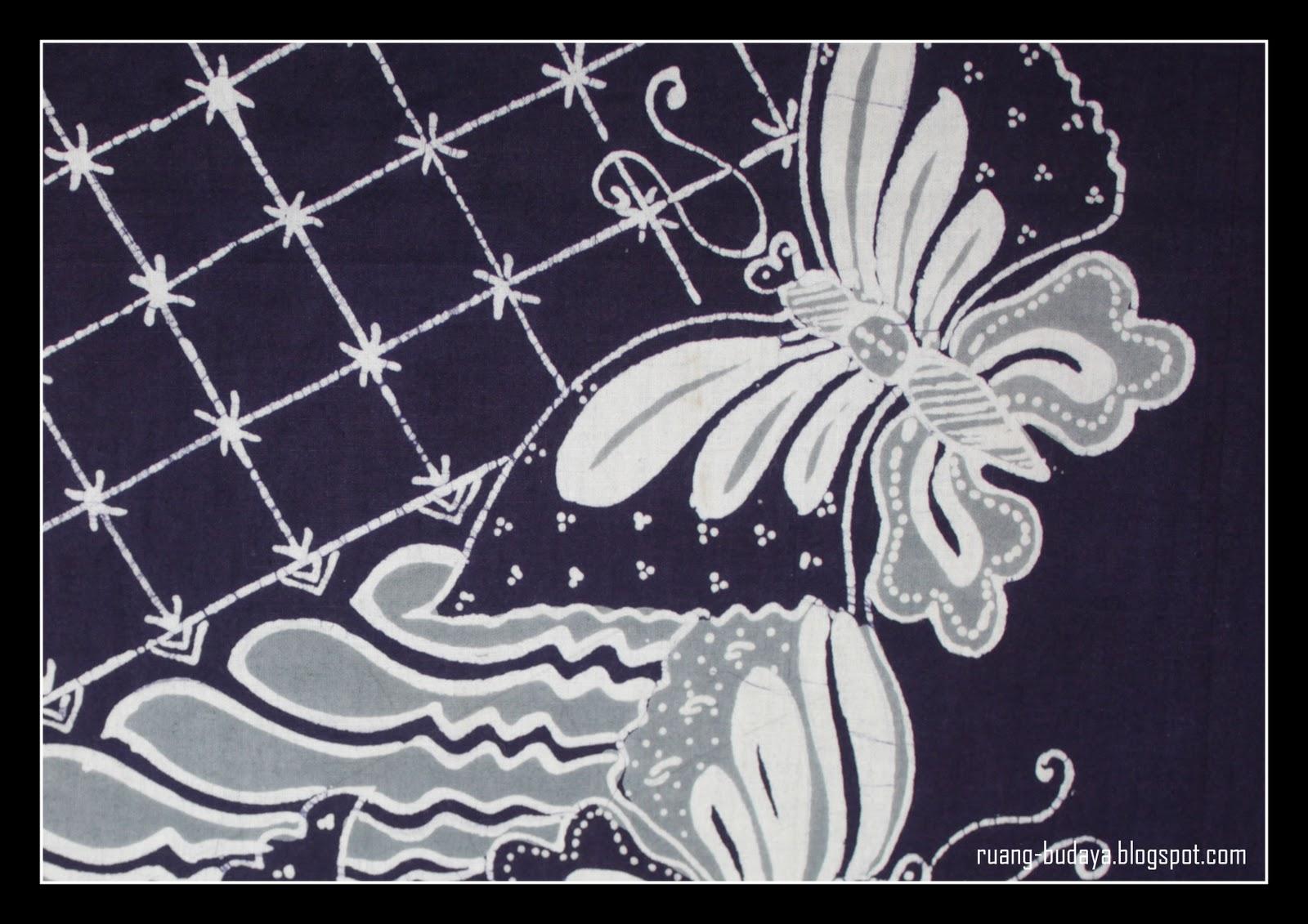Kumpulan Gambar Sketsa Motif Batik Kupu Kupu
