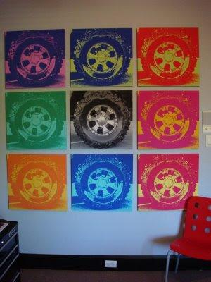 custom wall art decor using the power of 9