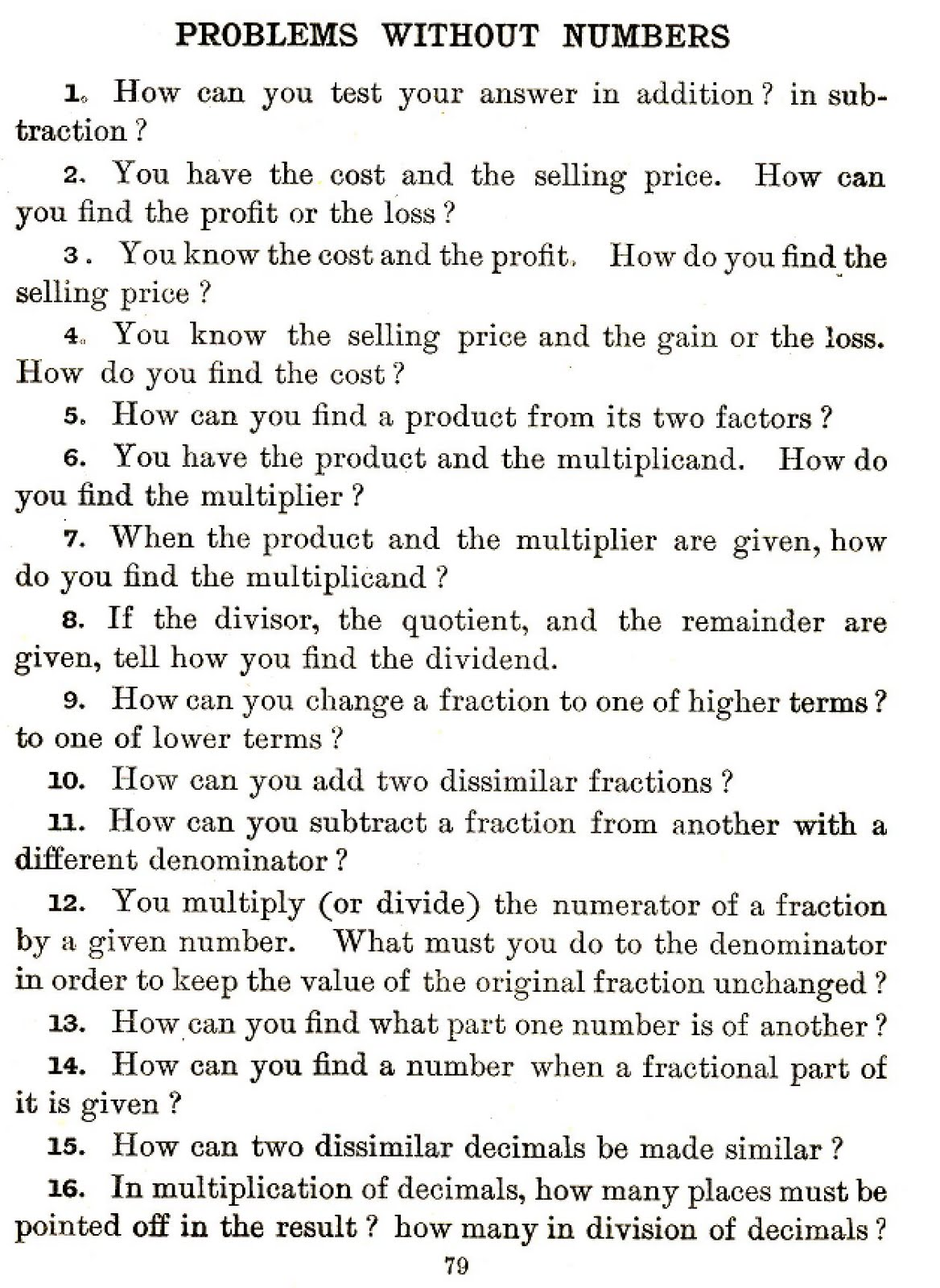 High School Math Riddles With Answers