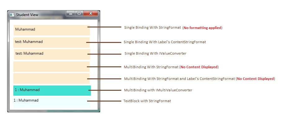 WPF - StringFormat when View's Non-String Properties use Binding