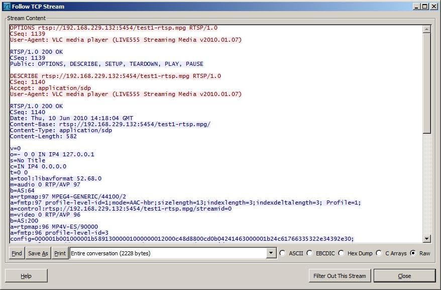 lim n->0 1/n=OO: ffserver / vlc / RTSP