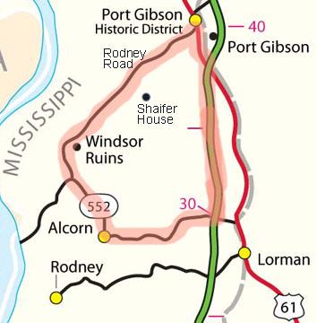 Natchez Trace Parkway Elevation Map.Natchez Trace Travel 2010