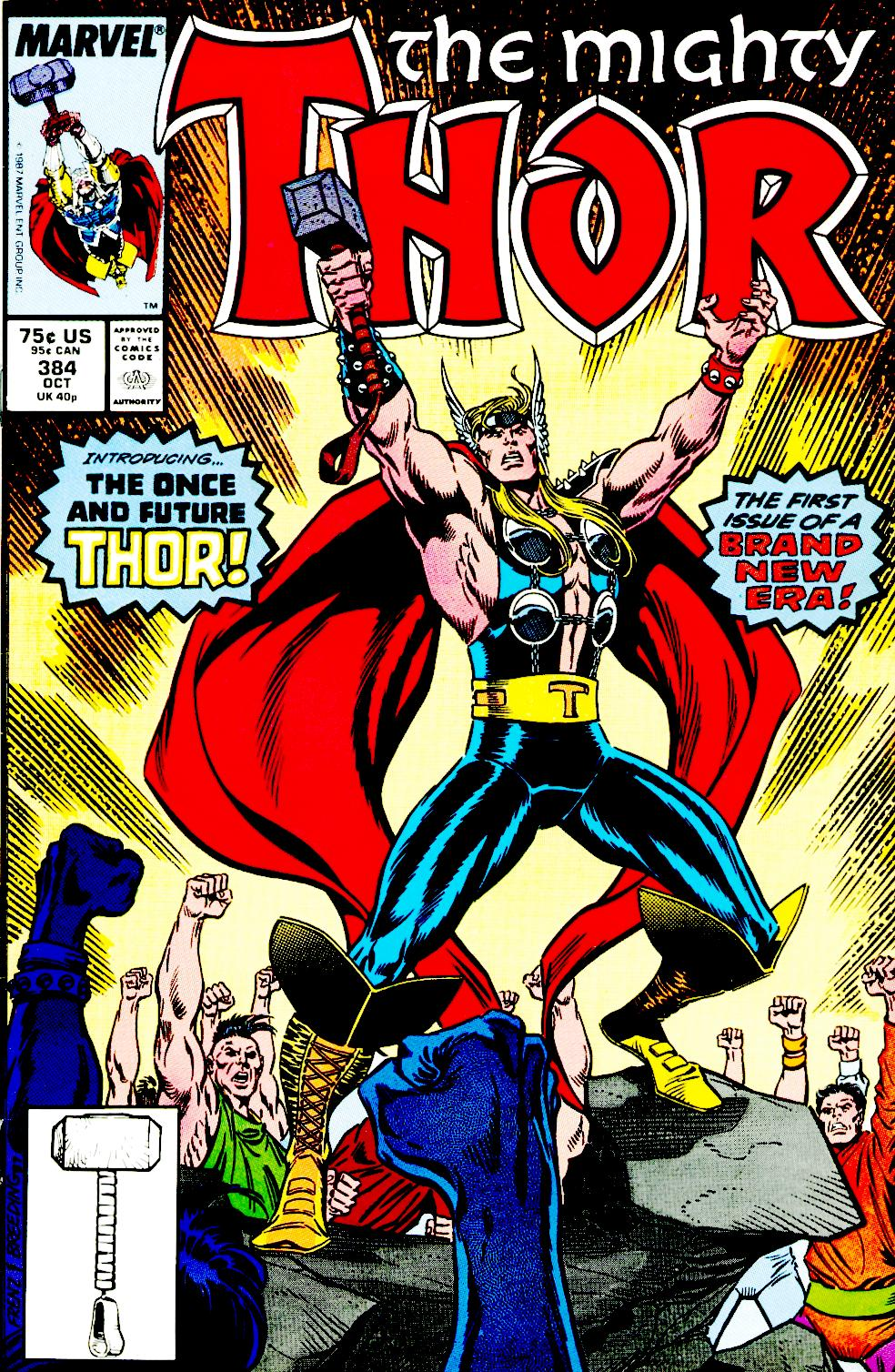1987 - The Mighty Thor #384