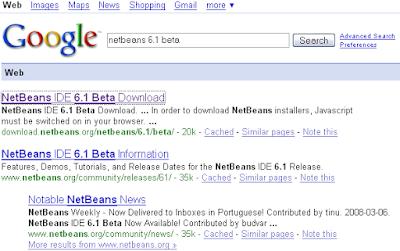 Netbeans IDE Blog by Tushar Joshi, Nagpur: Locating Netbeans