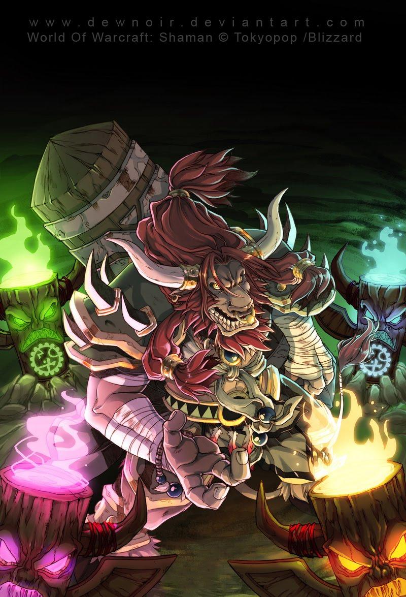 DewNoir: World Of Warcraft: Shaman