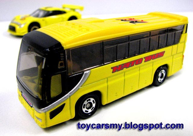 Featured Car: Tomica #42 Hato Bus | Toy Cars Collector ...