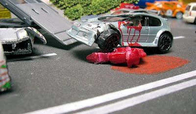 Hot Wheels Collectors Malaysia: Photo Gallery: Nasty accident