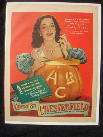 Vintage Halloween Ads.Celtic Lady More Vintage Halloween Magazine Ads
