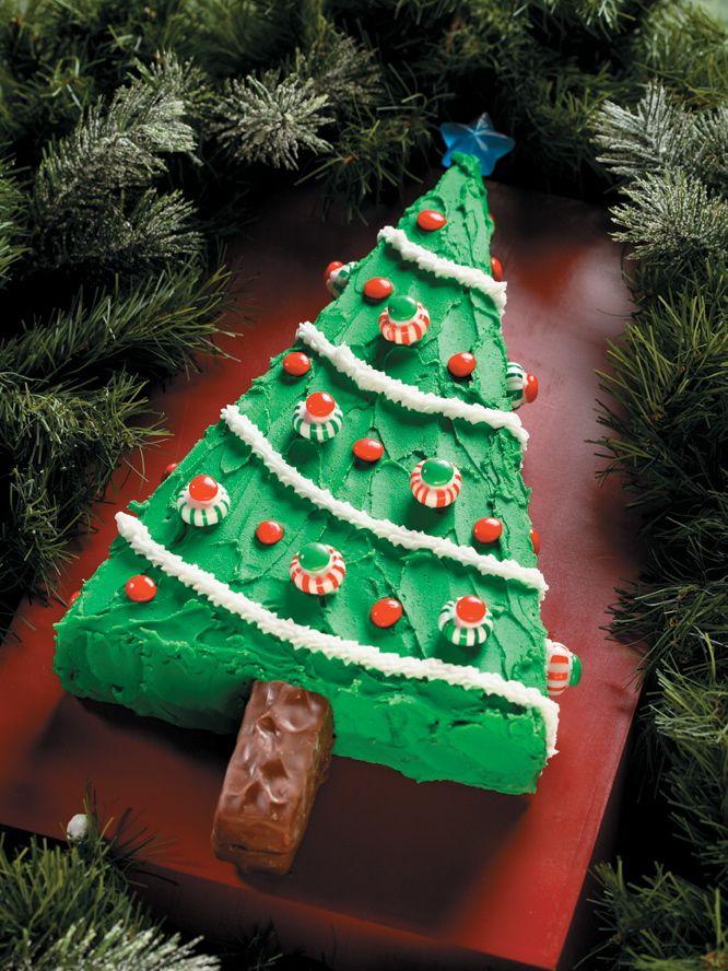 A Piece Of Cake        Christmas Tree Cake