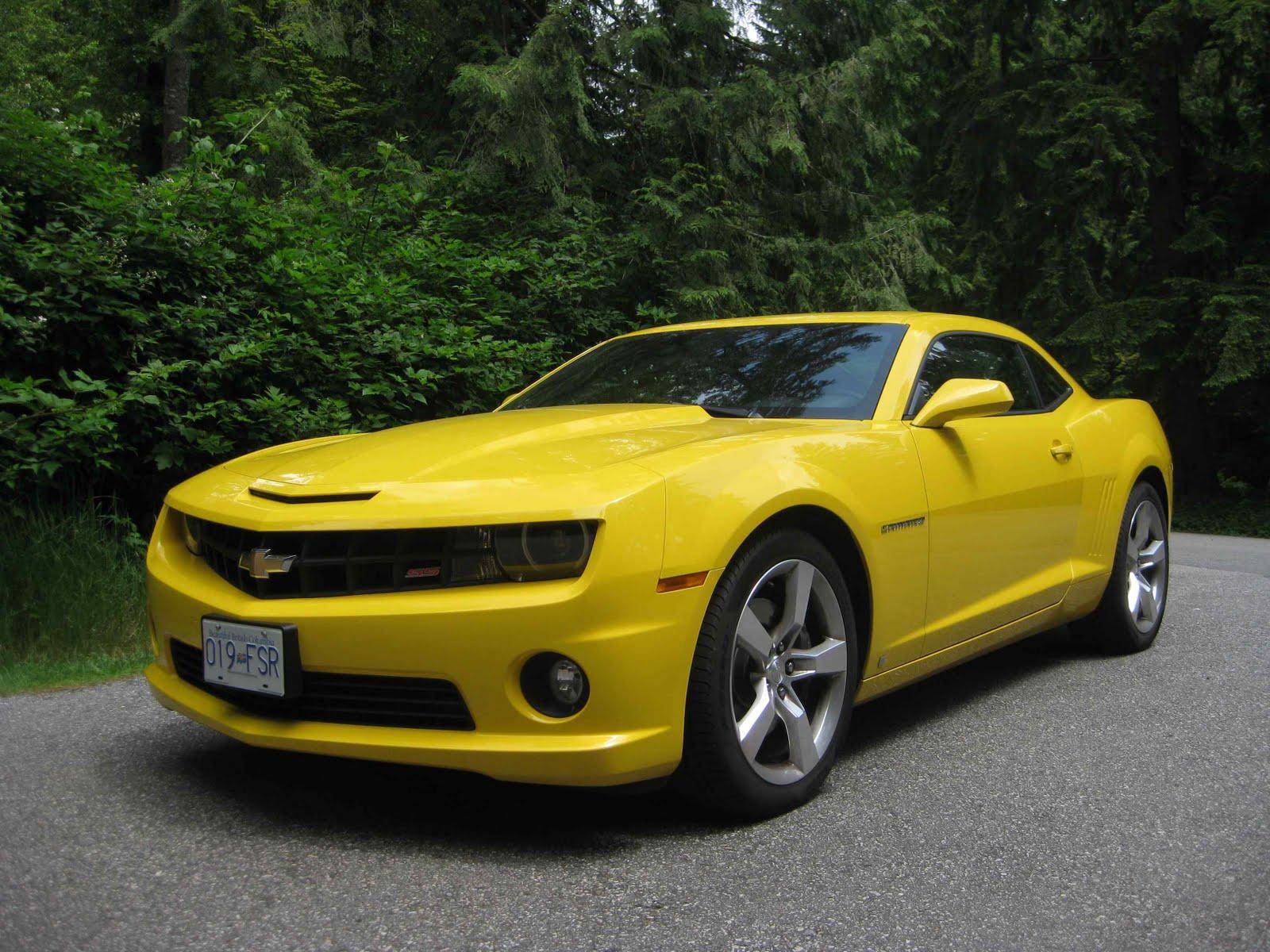 The Car Girl's Garage: The 2010 Chevrolet Camaro SS