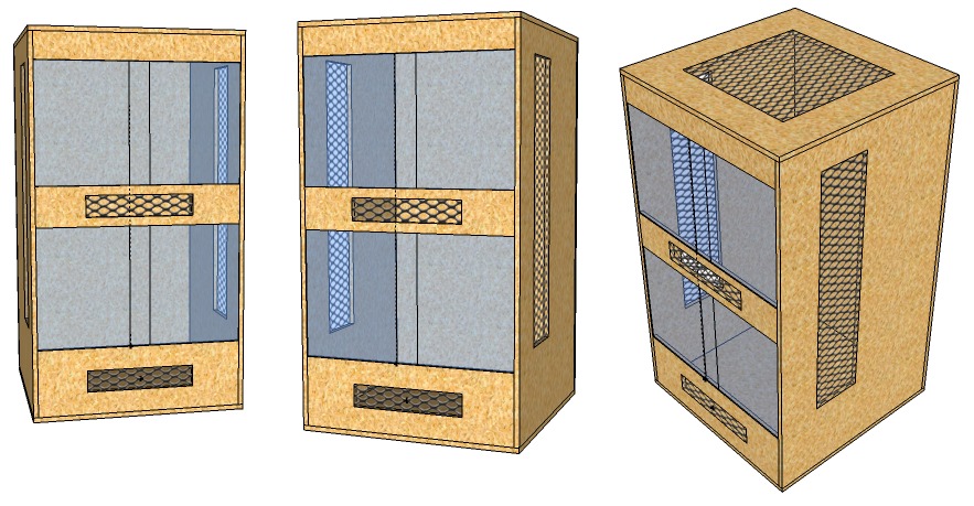 bau eines cham leon terrariums. Black Bedroom Furniture Sets. Home Design Ideas