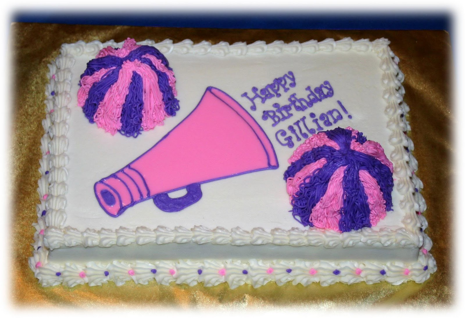 Images Of Cheerleading Cakes