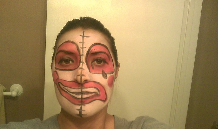 Sherry Berrys Fantasy Facepainting Smile Now Cry Later