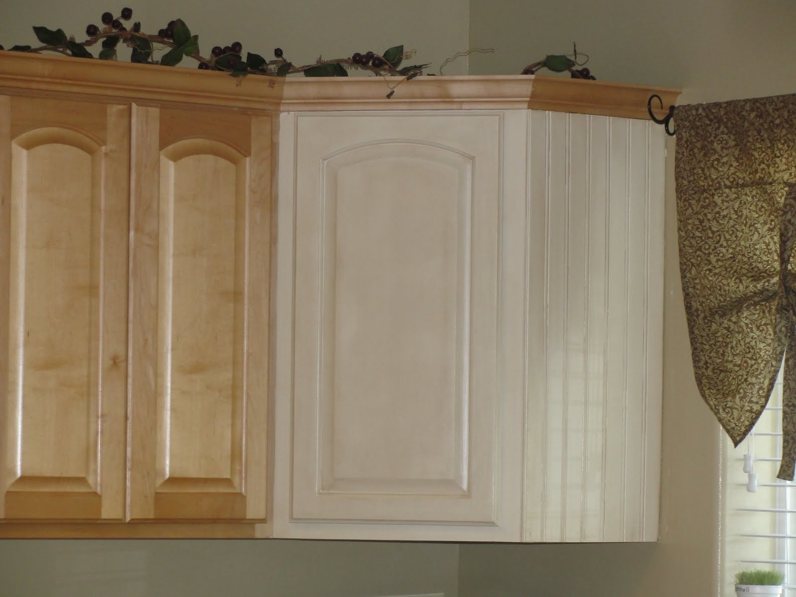 Facelift For Kitchen Cabinets Refinish Gerber Daisies And Giggles Diy Cabinet