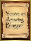 You're An Amazing Blogger Award