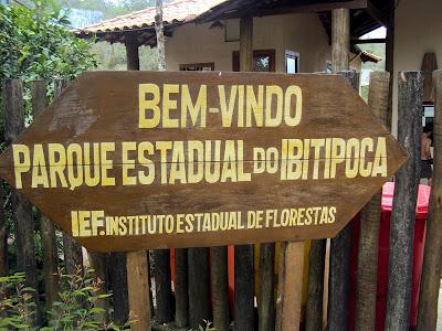 minas gerais mg ibitipoca cachoeiras  viajando sem frescura turismo  parque estadual ibitipoca placa