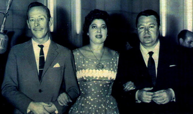 Roberto Goyeneche, Elva Beron y Anibal Troilo