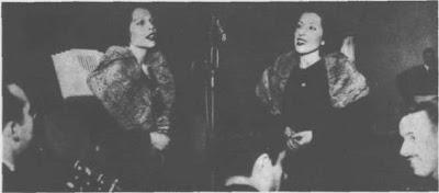 Nelly Omar con su Hermana Nilda en 1935