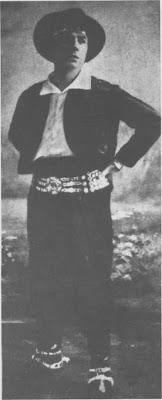 Carlos Gardel en 1912