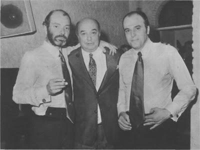 Raúl Garello con Cátulo  Castillo y  Horacio  Ferrer en 1974