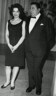 Ginamaria Hidalgo con Atahualpa Yupanki en 1962