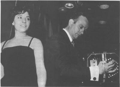 Nelly Vázquez con Piazzolla en 1962