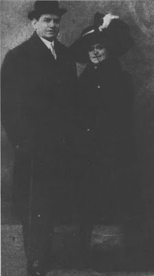 Flora Gobbi y Alfredo Gobbi (Padre) en 1910