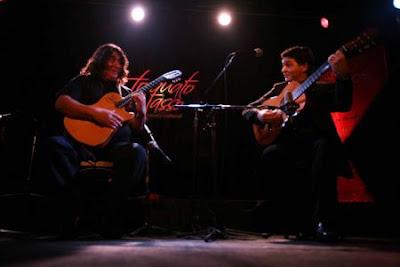 Luis Salinas y Hugo Rivas