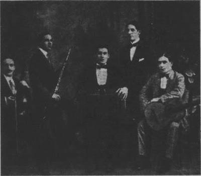 Quinteto criollo de Augusto Pedro Berto