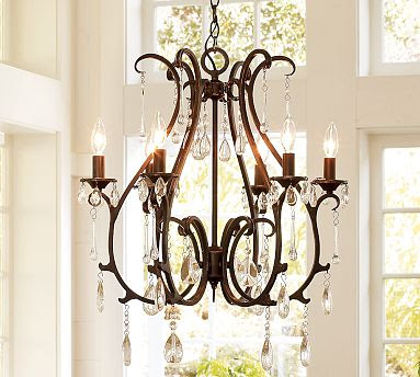Copy Cat Chic Pottery Barn Celeste Chandelier