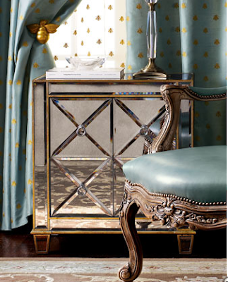 Copy Cat Chic Horchow Roxanne Mirrored Chest