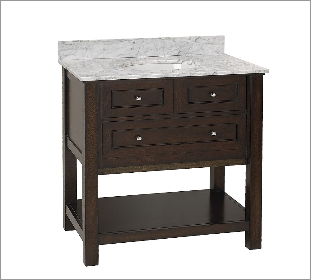 Copy Cat Chic: Pottery Barn Classic Sink Console